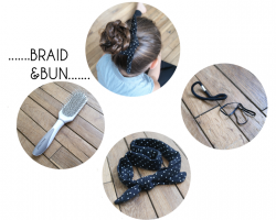 TUTO BRAID AND BUN