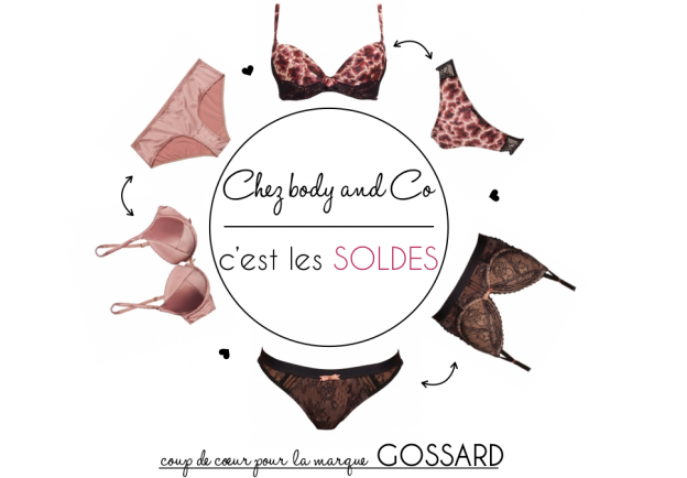 body and co, gossard soldes
