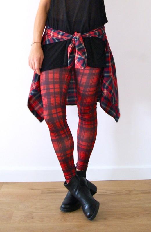 legging tartan