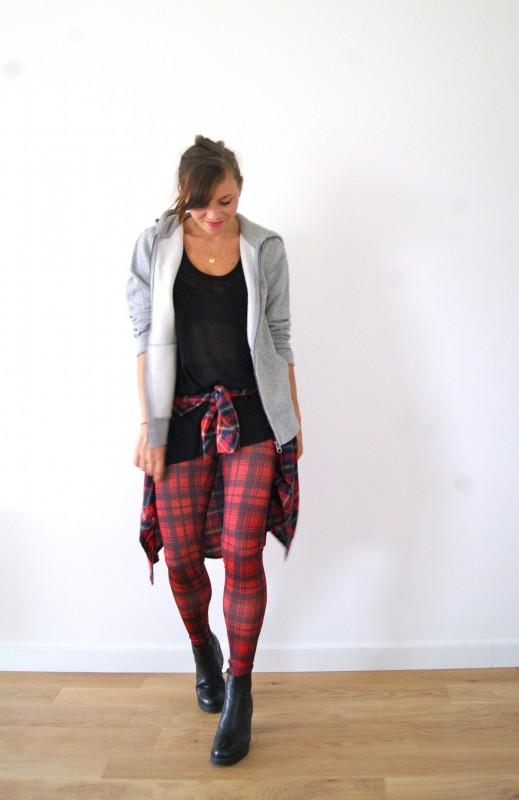 tendance mode tartan