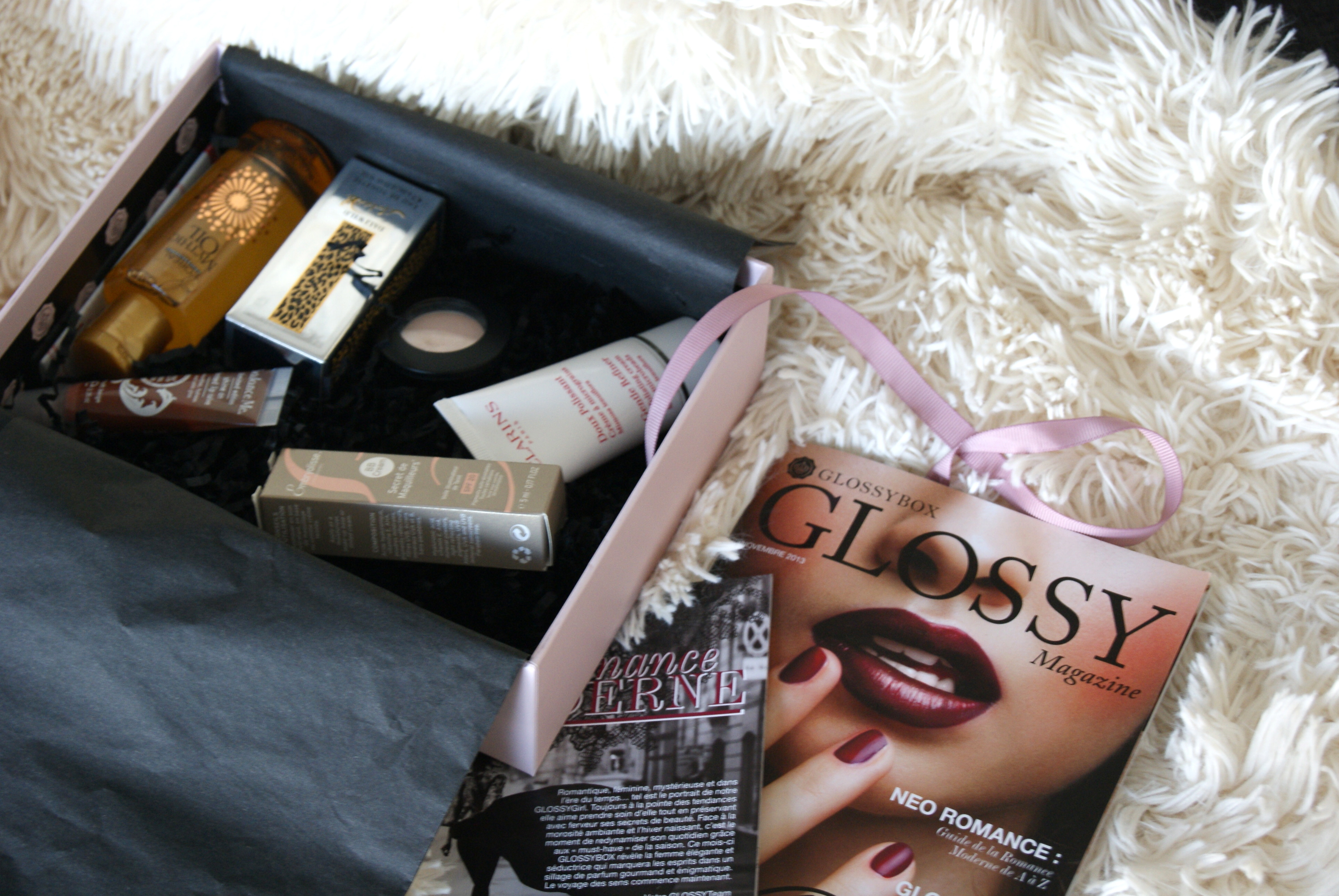 glossybox novembre 2013