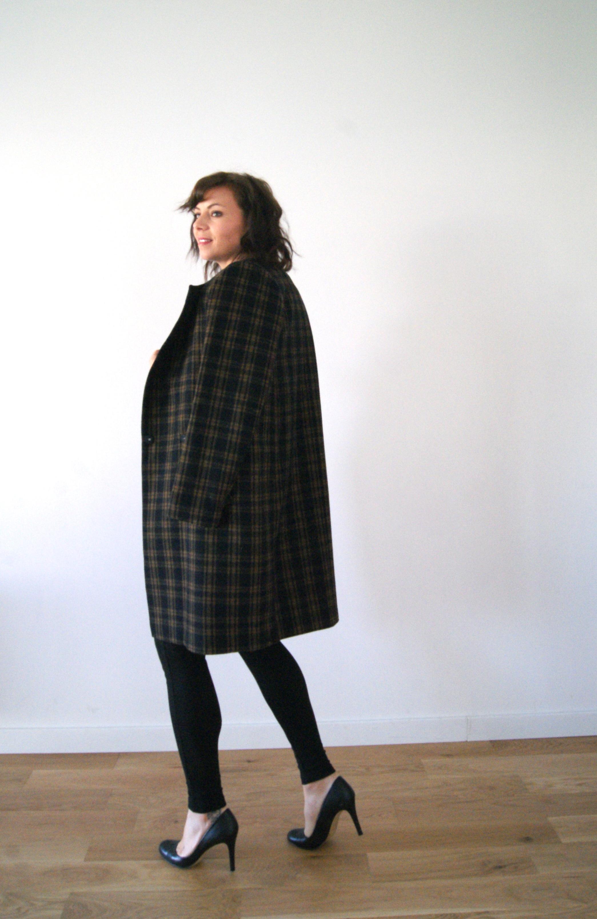 manteau tartan hetm
