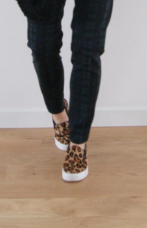 slip on léopard