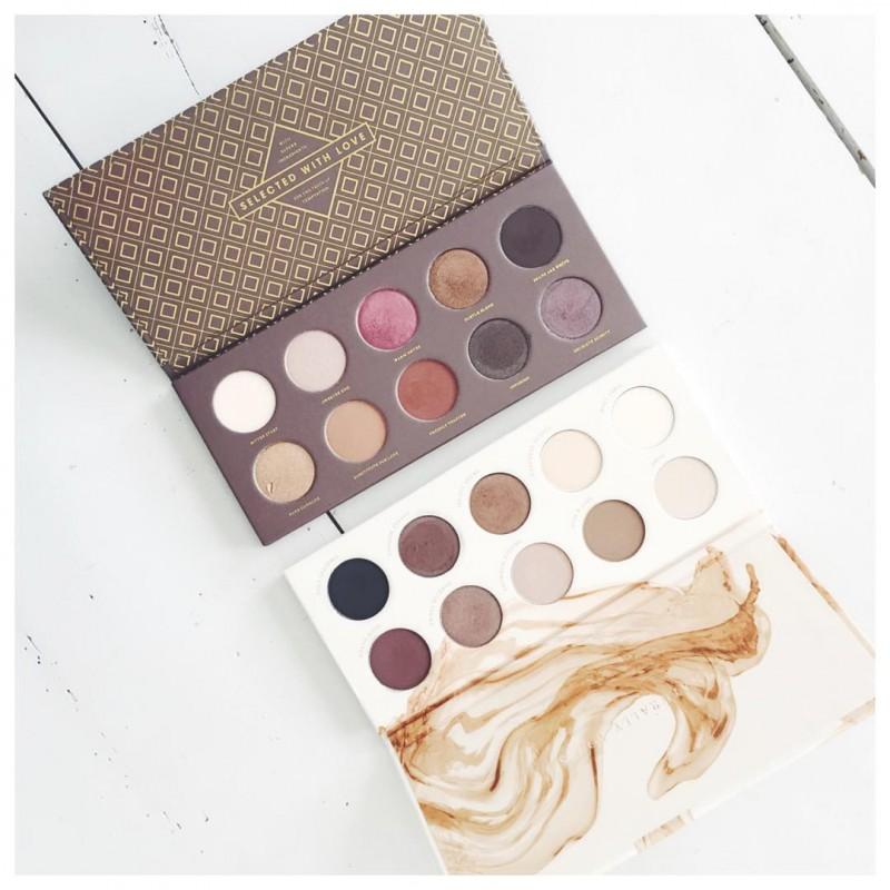 Sur le blog on parle des jolies palettes Zoeva makeuphellip