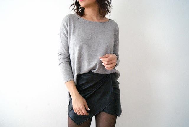 mini-jupe porte feuille
