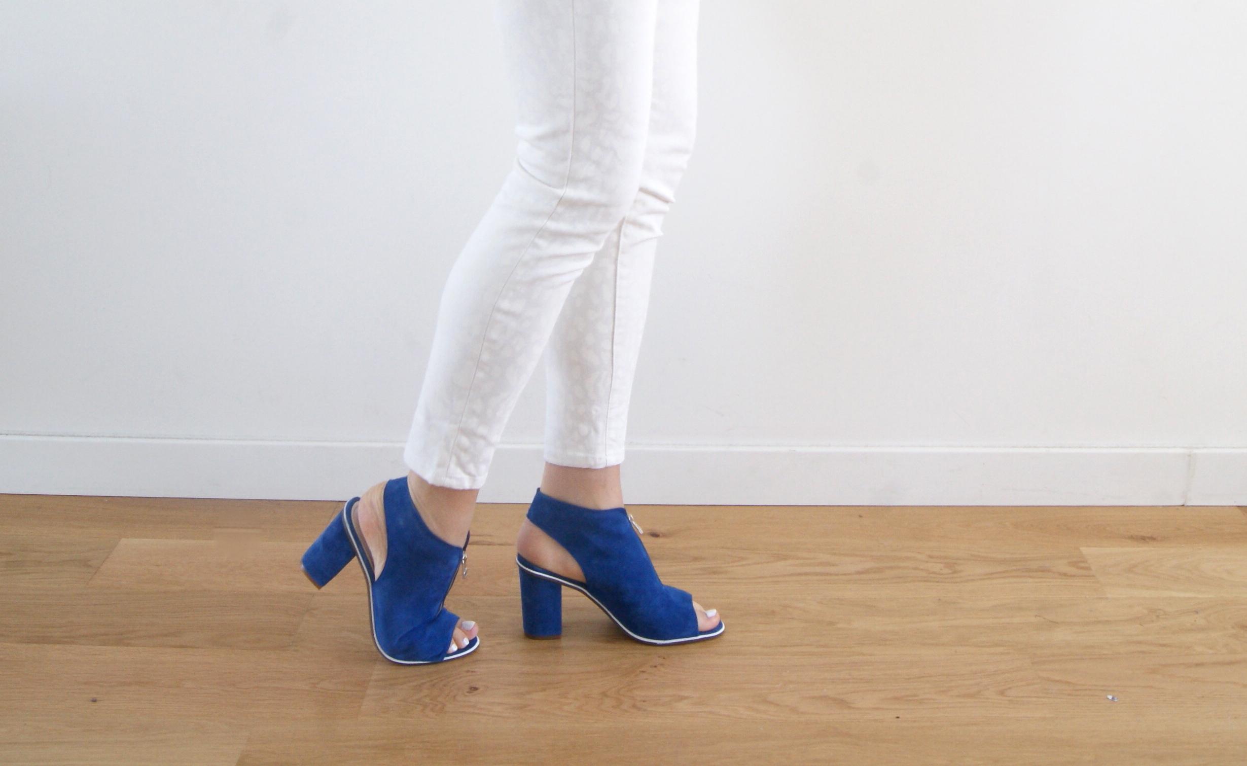sandales eram bleu