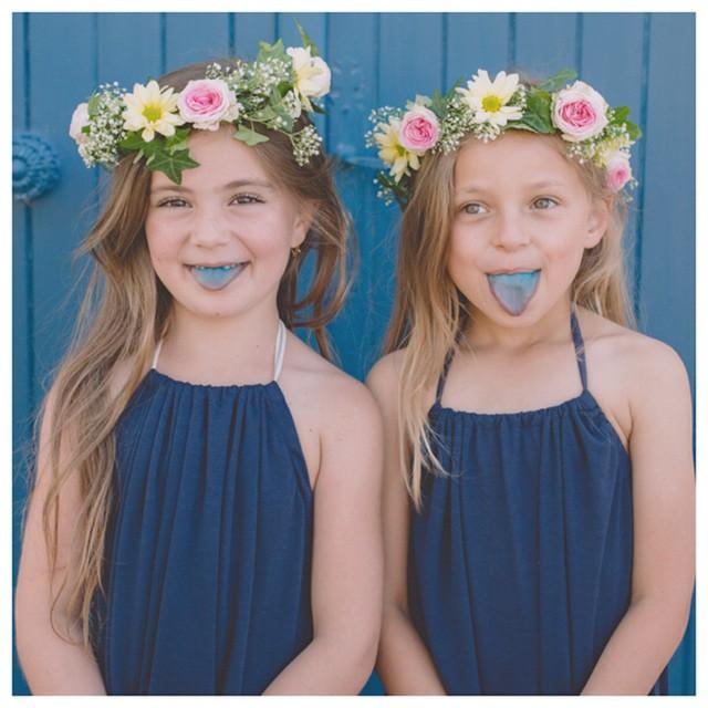 Des langues bleus pour la robe Laura mini aureliemalau maellemalauhellip