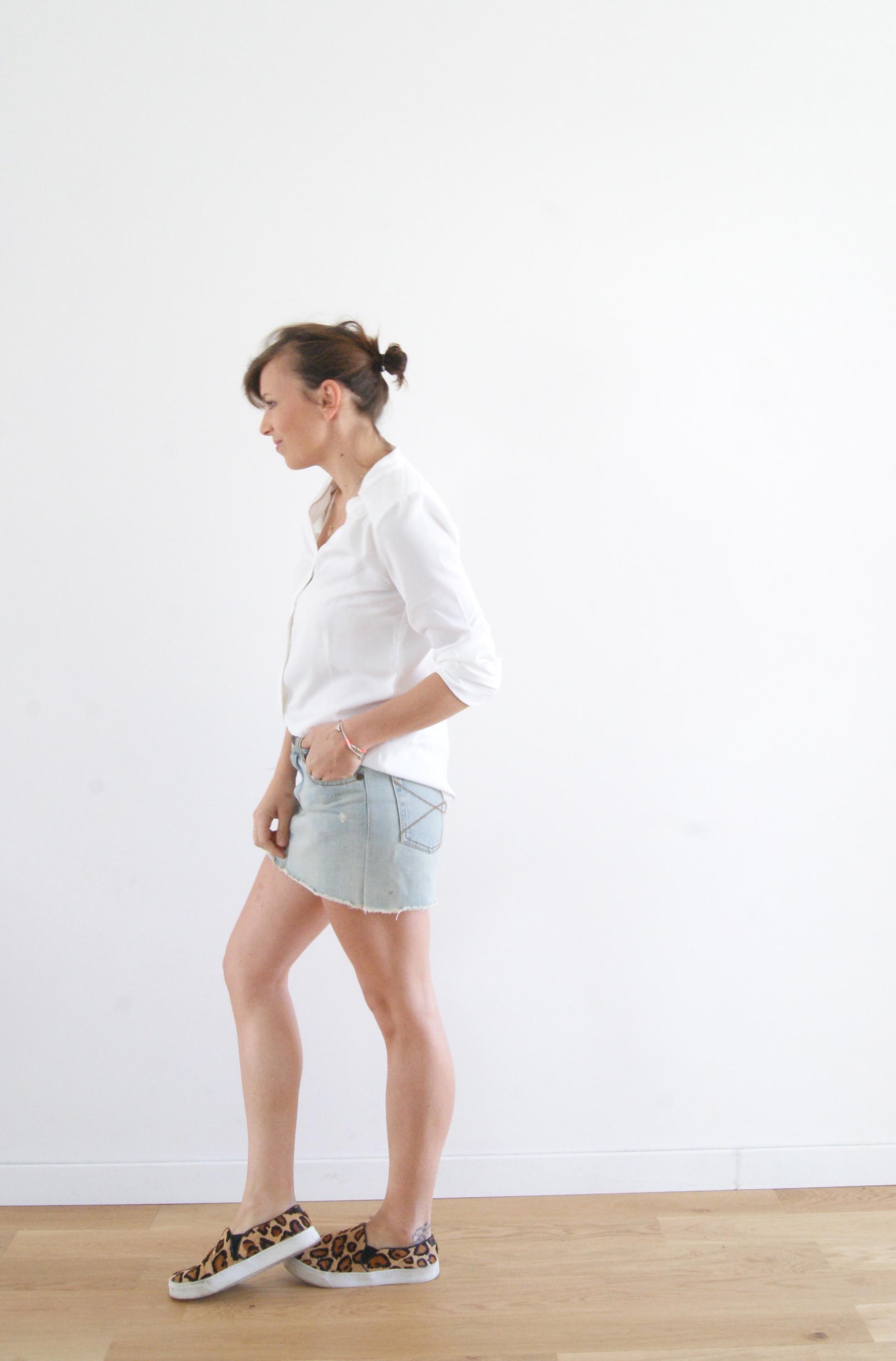 blouse blanche clo&se