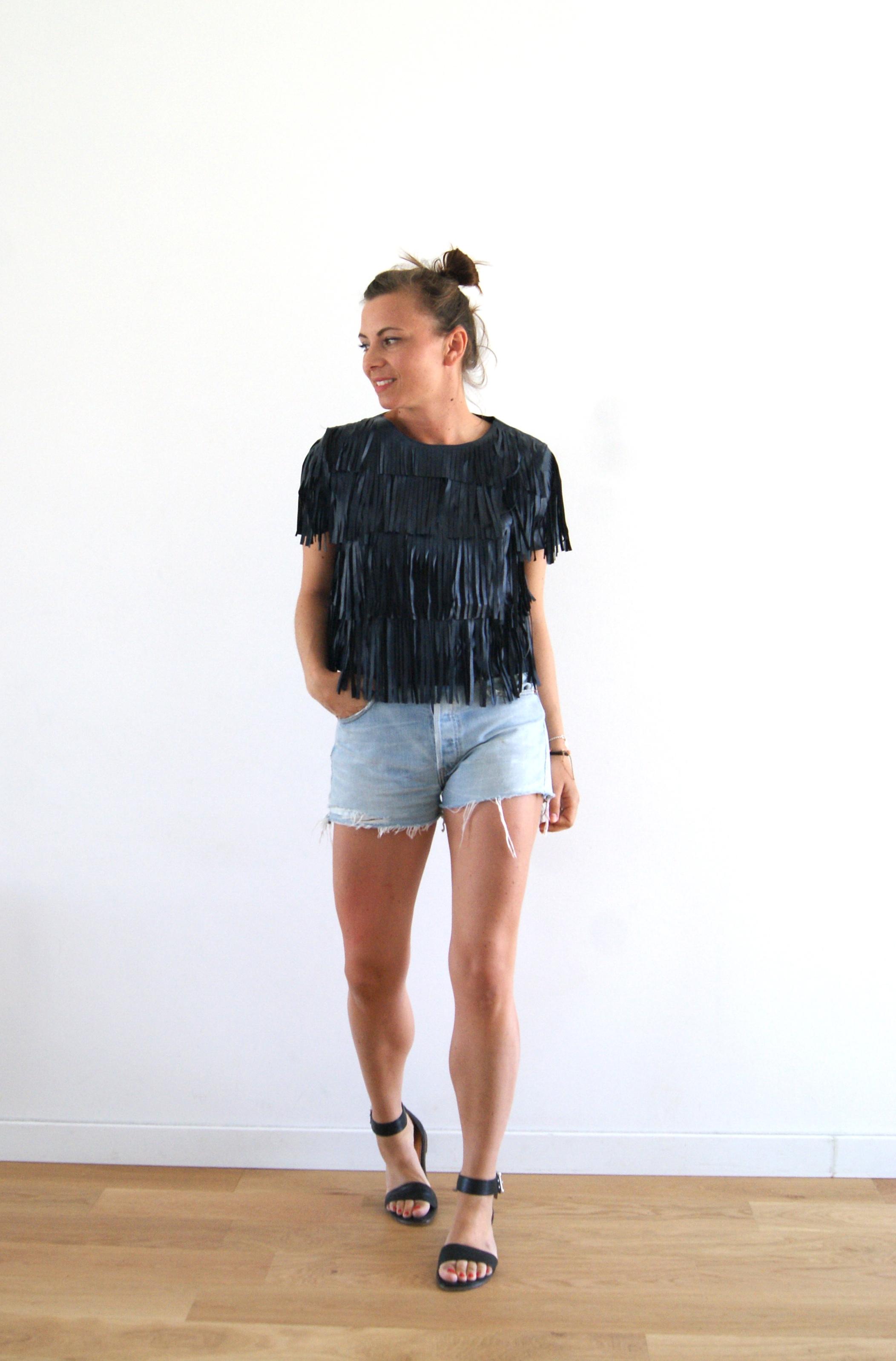 short en jeans levi's