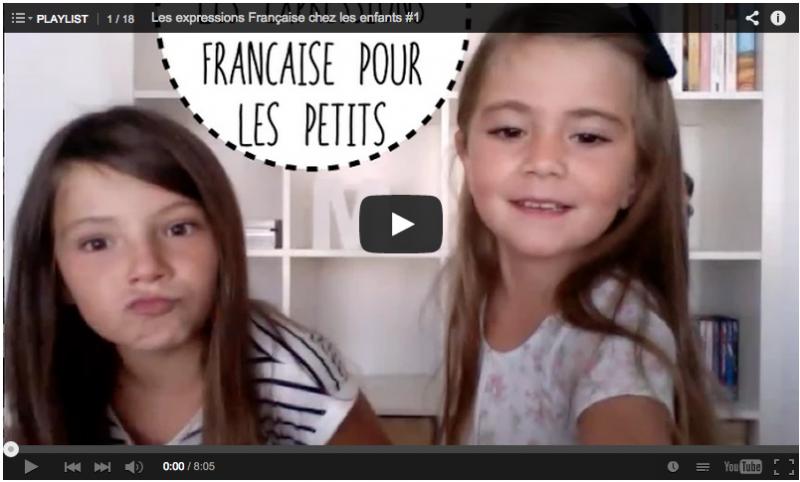 les expression française chez les enfants