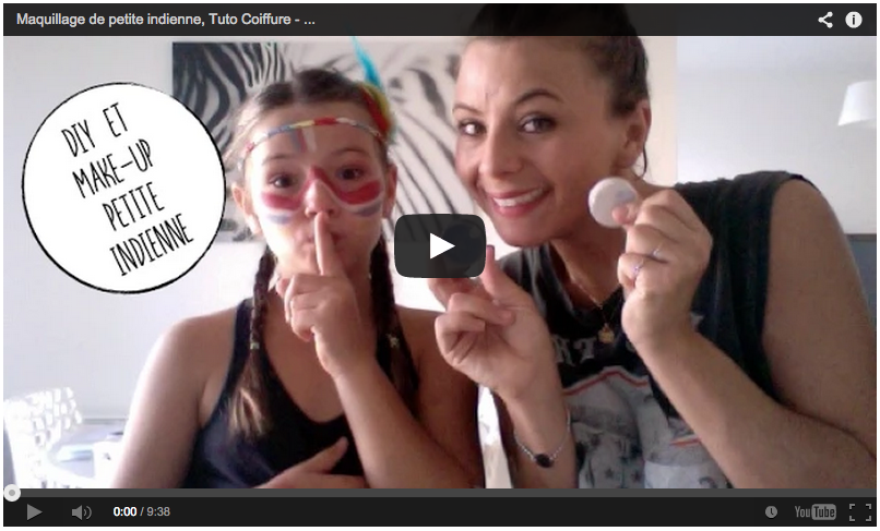 MAKE-UP INDIENNE / TUTO COIFFURE / DIY COIFFE ET COSTUME