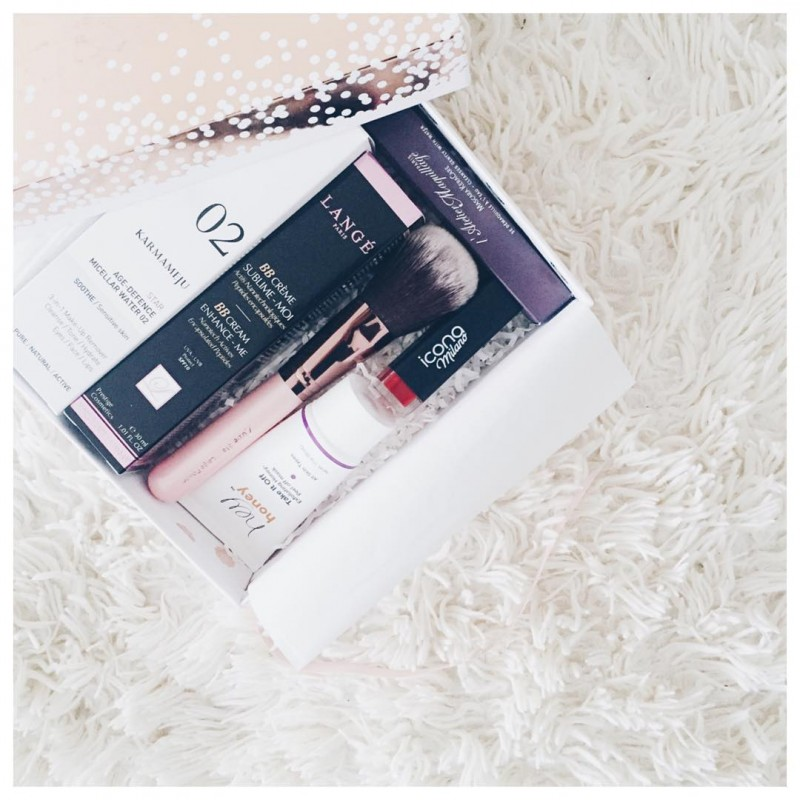 Ldition limit de glossyboxfr pour les ftes makeup beauty