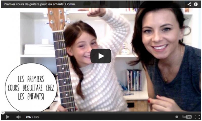 cours de guitare pour les enfants