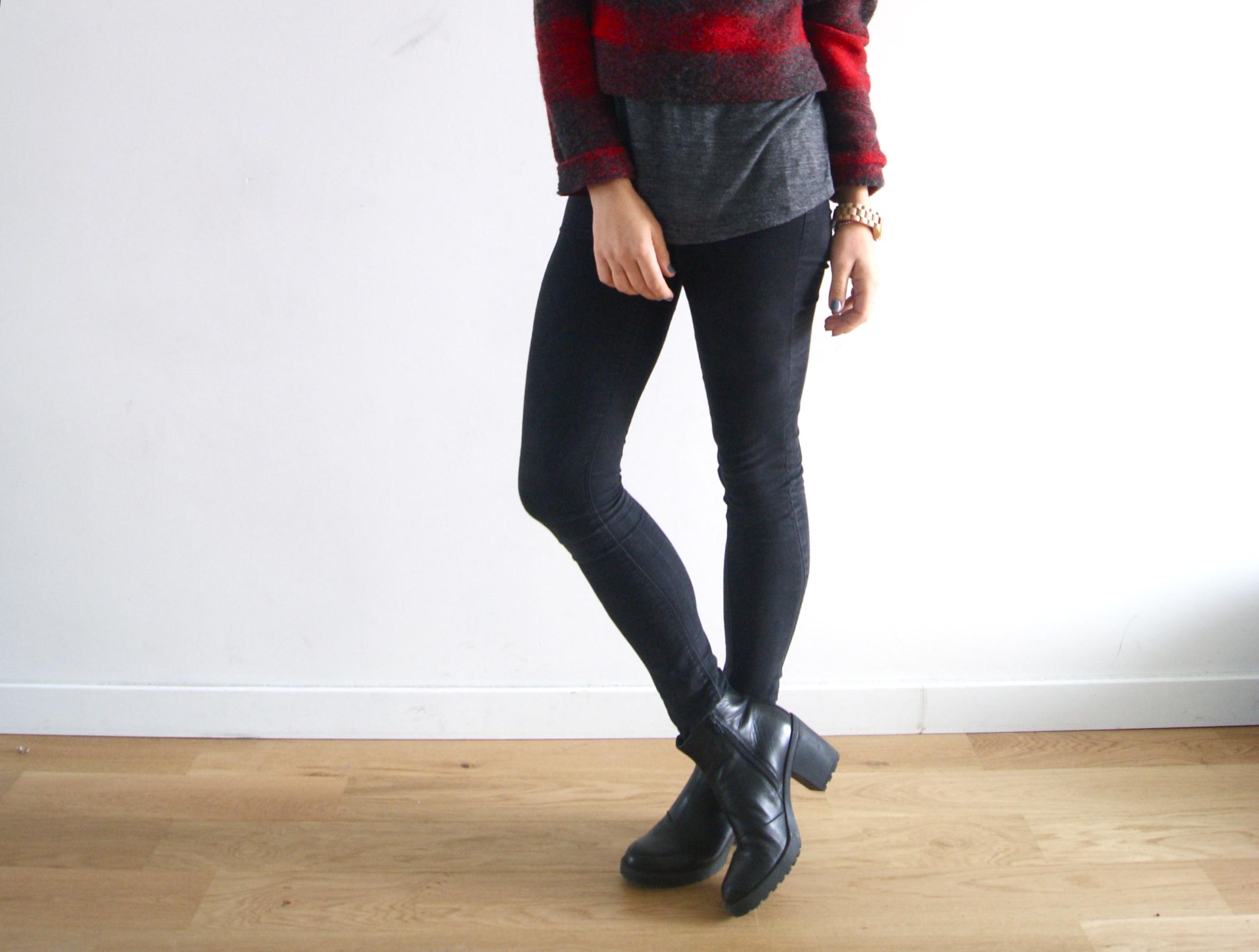 skinny noir sojeans