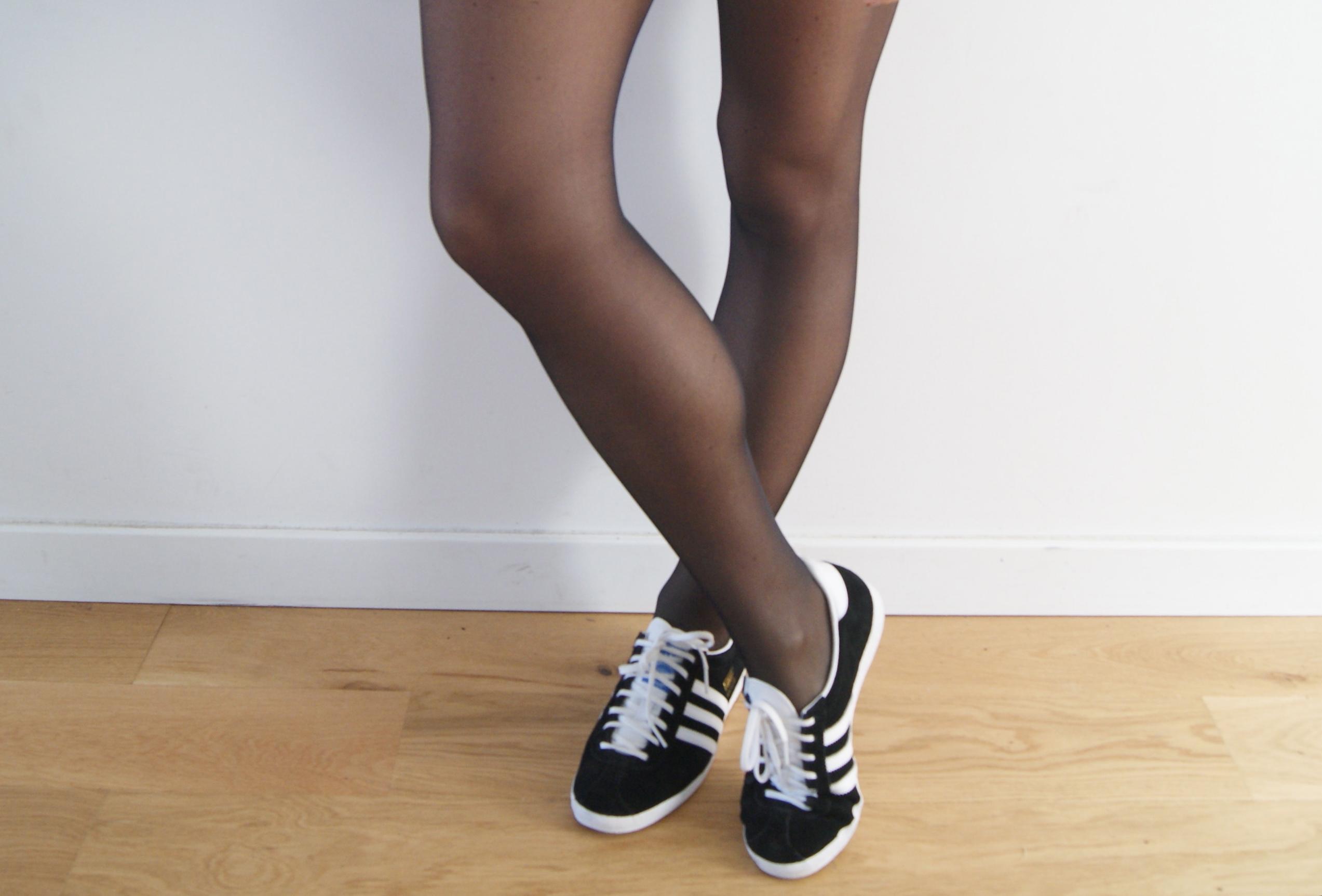 adidas tubular femme porté