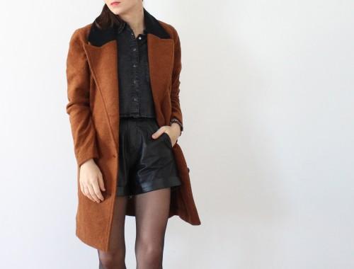 manteau YAS Aurélie malau