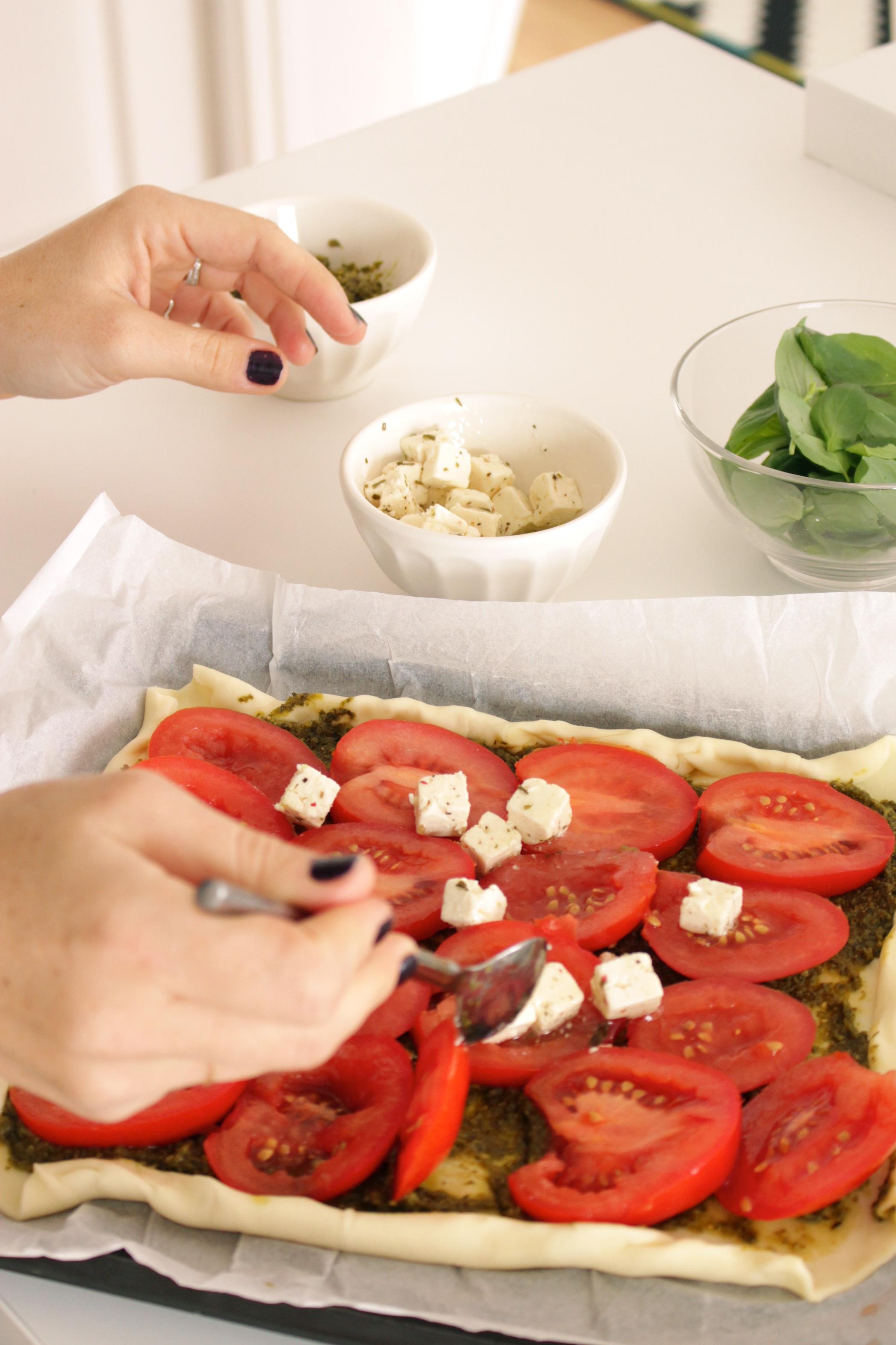tomate et féta