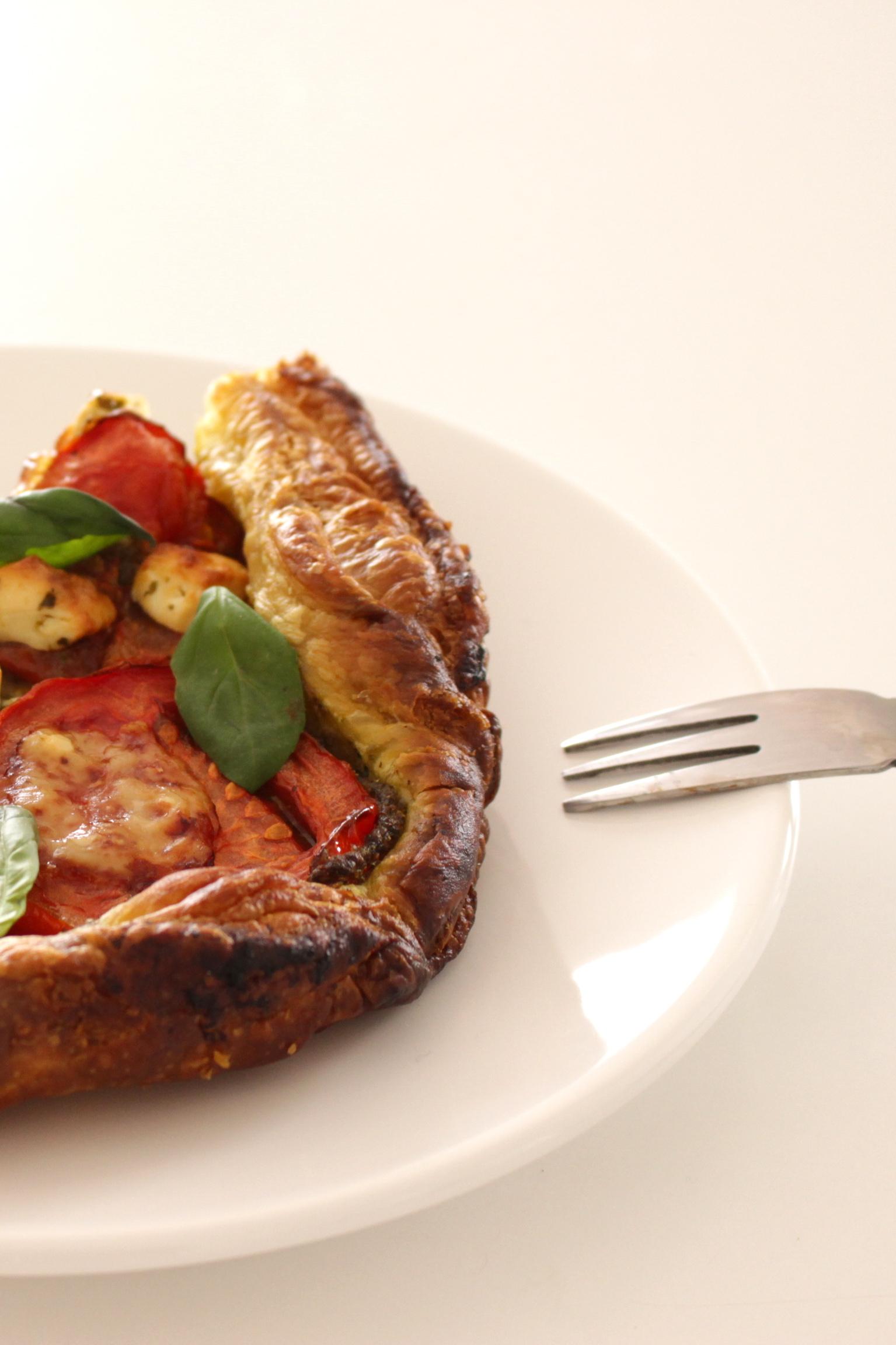 tomate basilic féta
