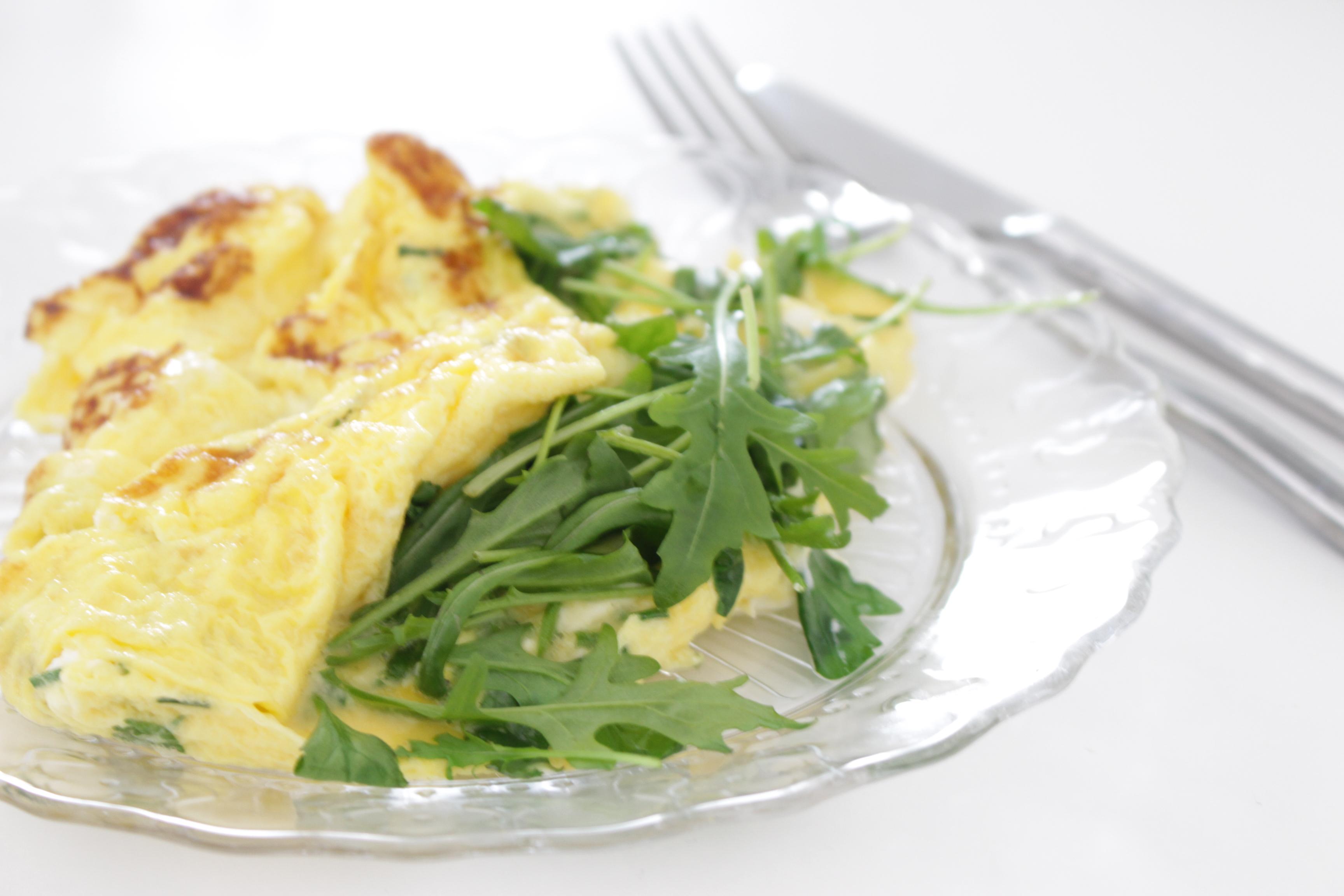 omelette heathly