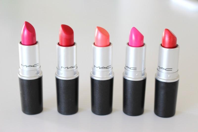 rouge à lèvre mac promo