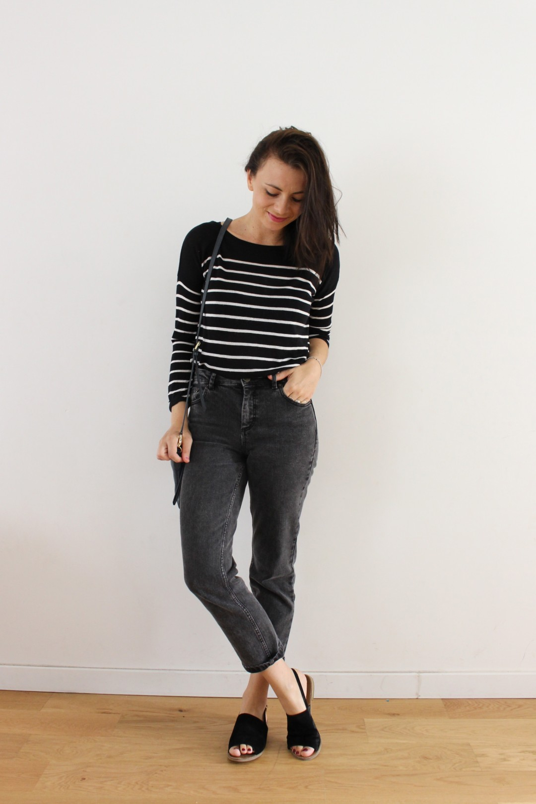 jeans taille haute asos