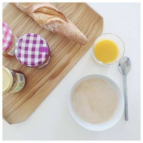 Vendredi  yummy breakfast