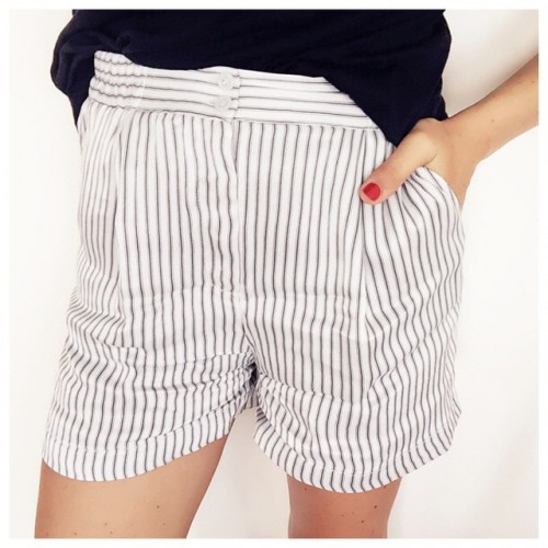 Le short satin a 5 euros! hetm ootd look