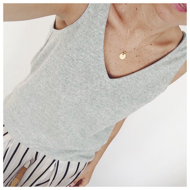 Le top coco arrive en gris on wwwaureliemalaucom malaucollection aureliemalauhellip