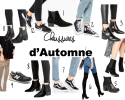 CHAUSSURES D'AUTOMNE