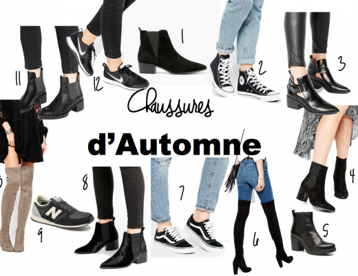 chaussures d'automne