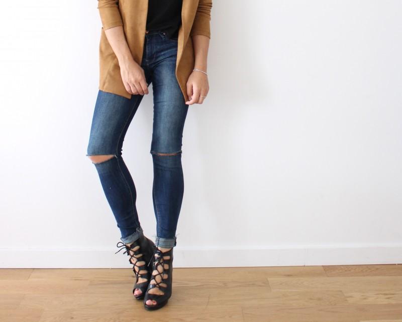 sandales à lancets