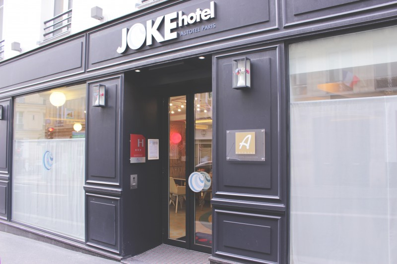 Hotel joke paris