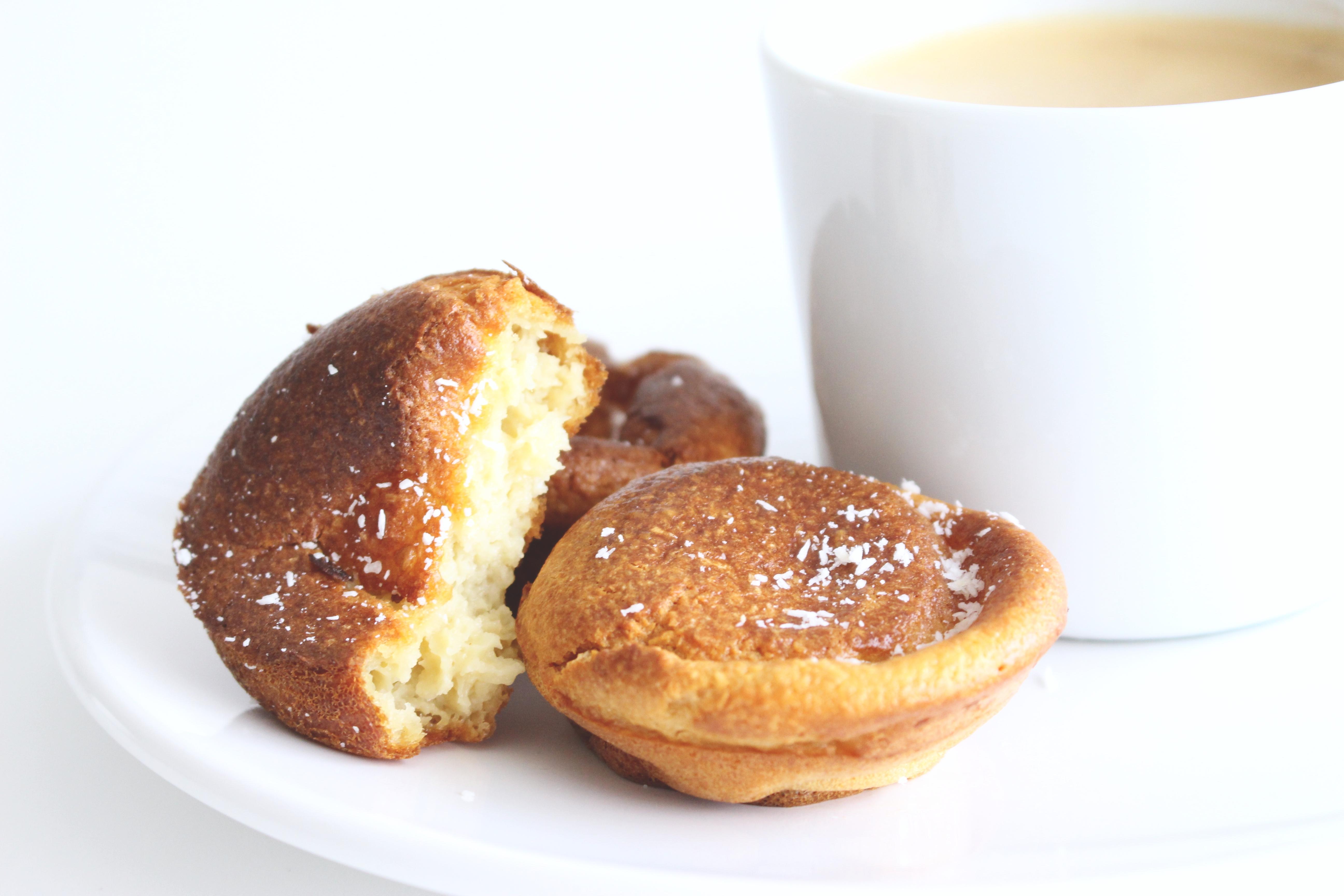 clafoutis muffins lait de coco