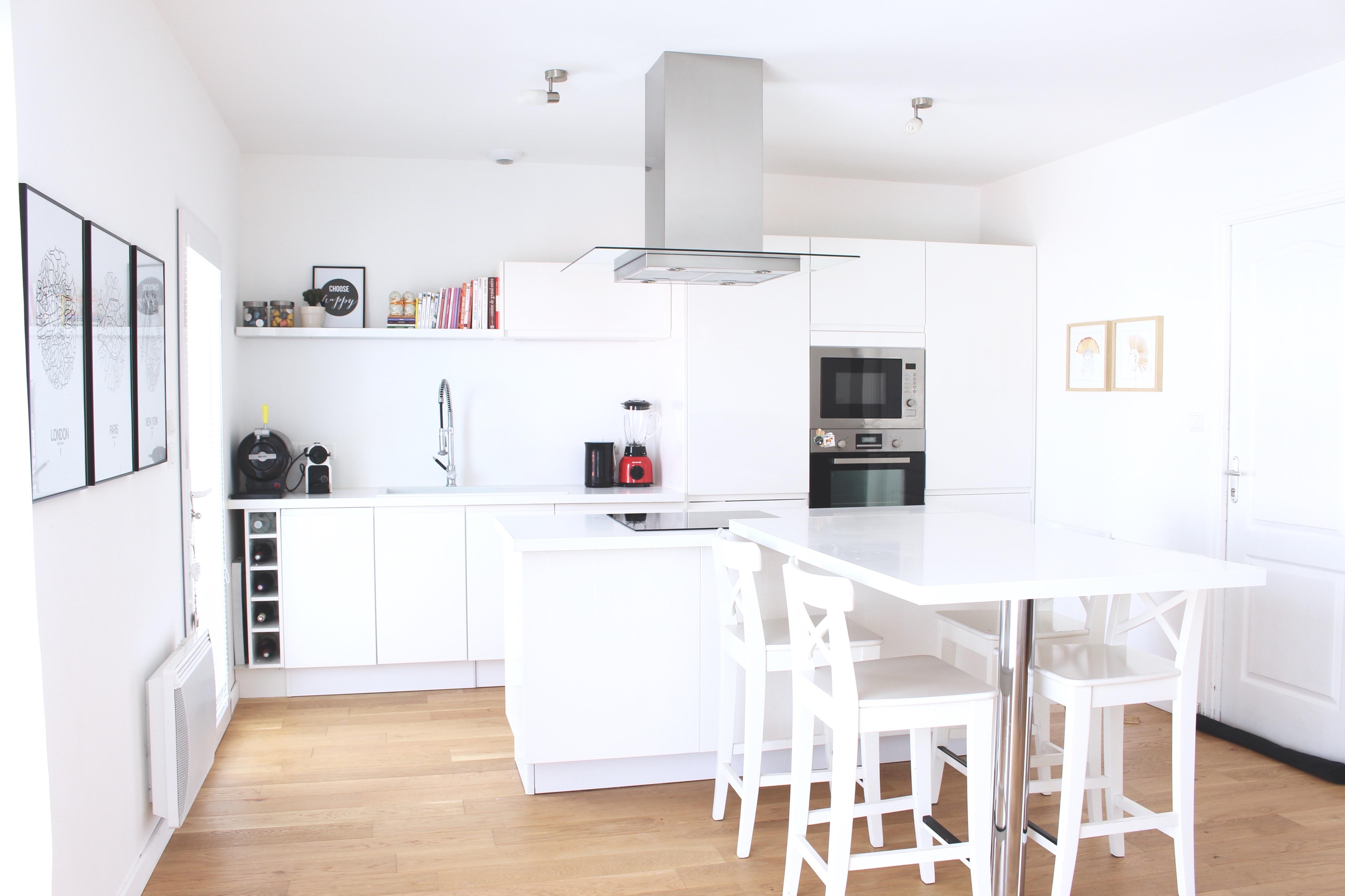 aménagement cuisine déco cuisine blanche