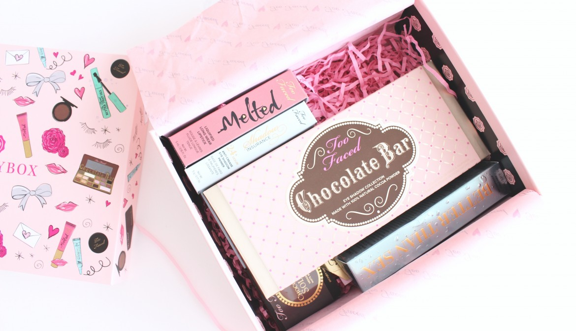 GLOSSYBOX & TOO FACED