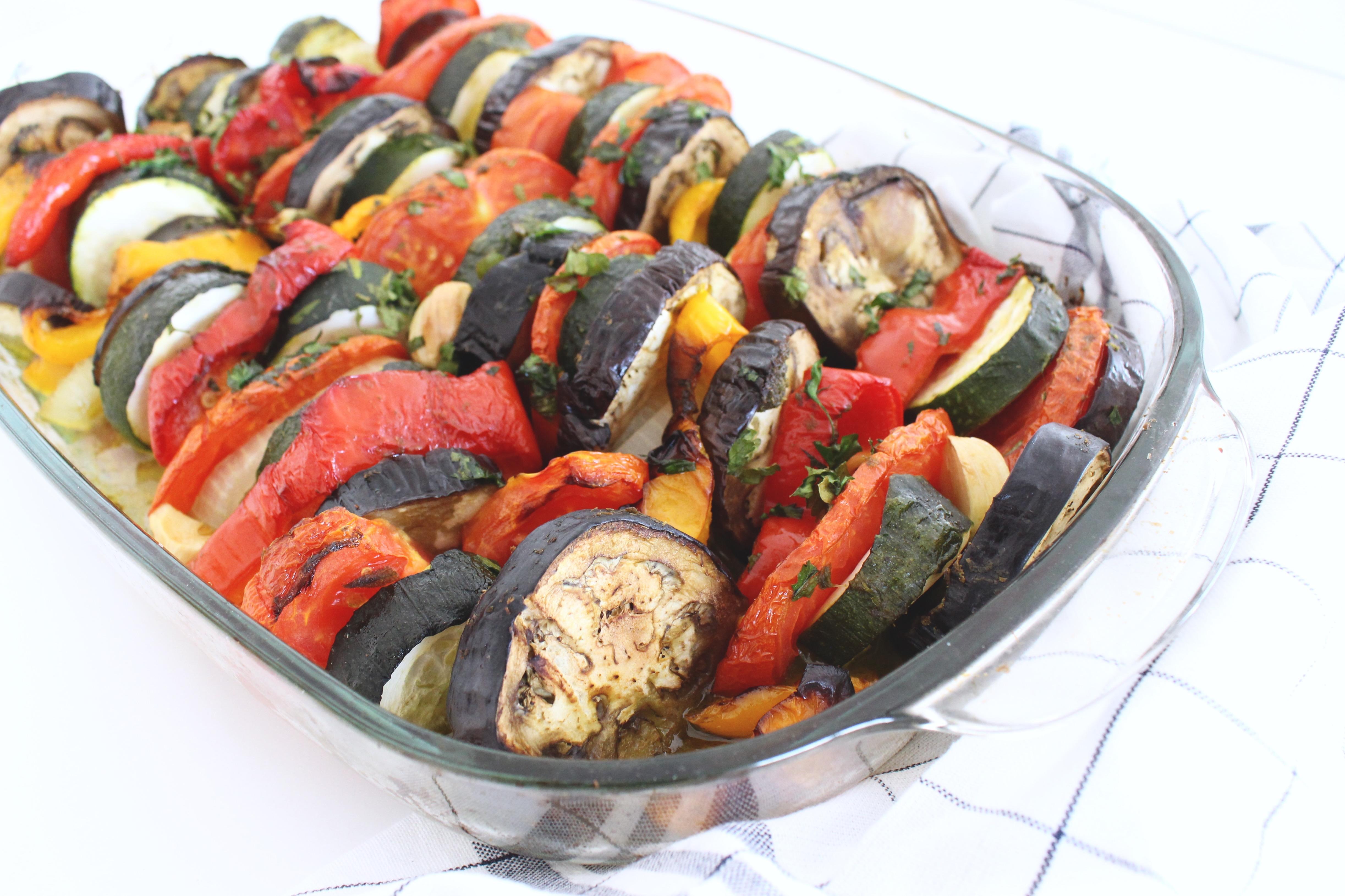 tian de légumes provençale