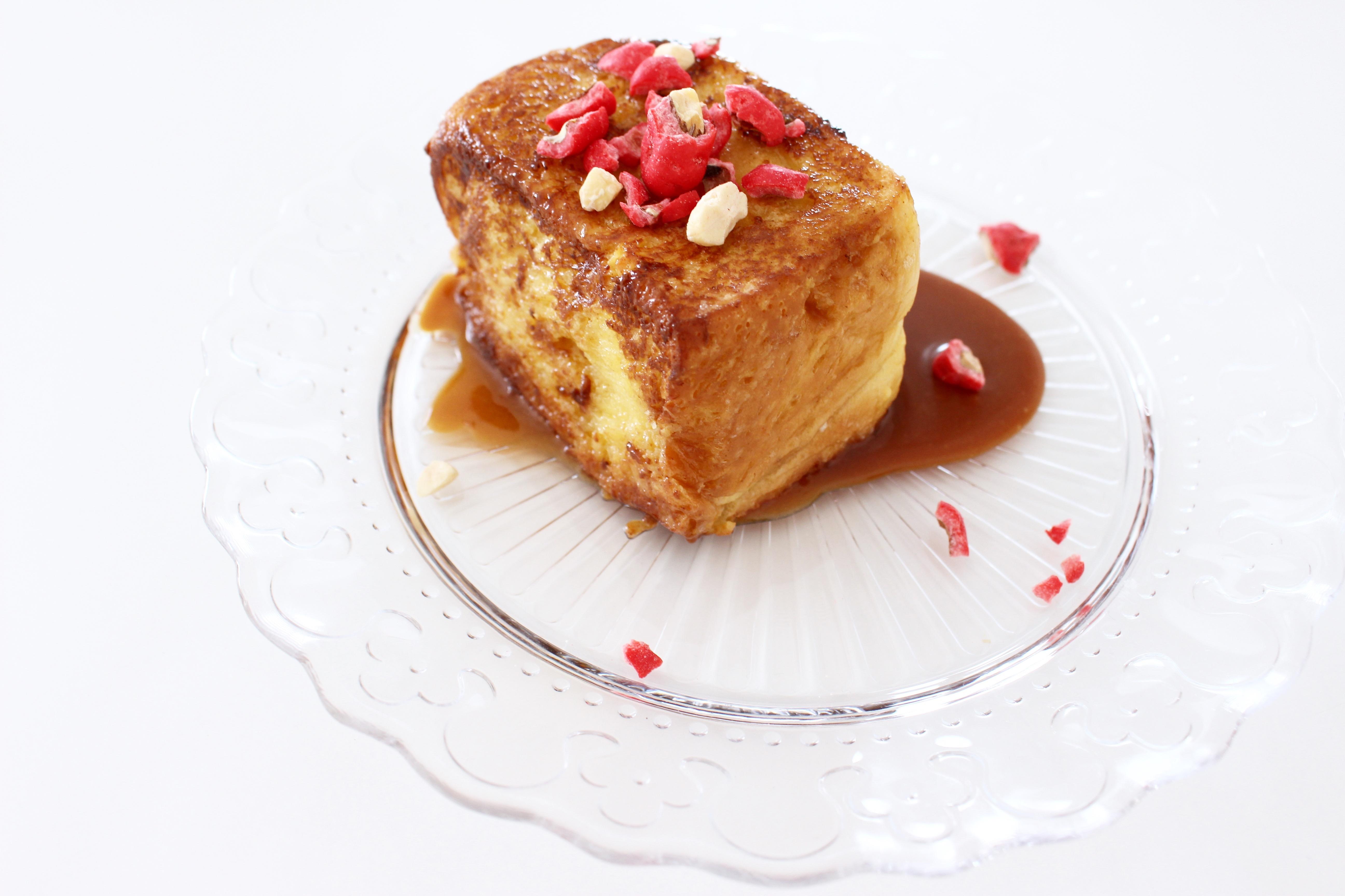 dessert, les commis pain perdu