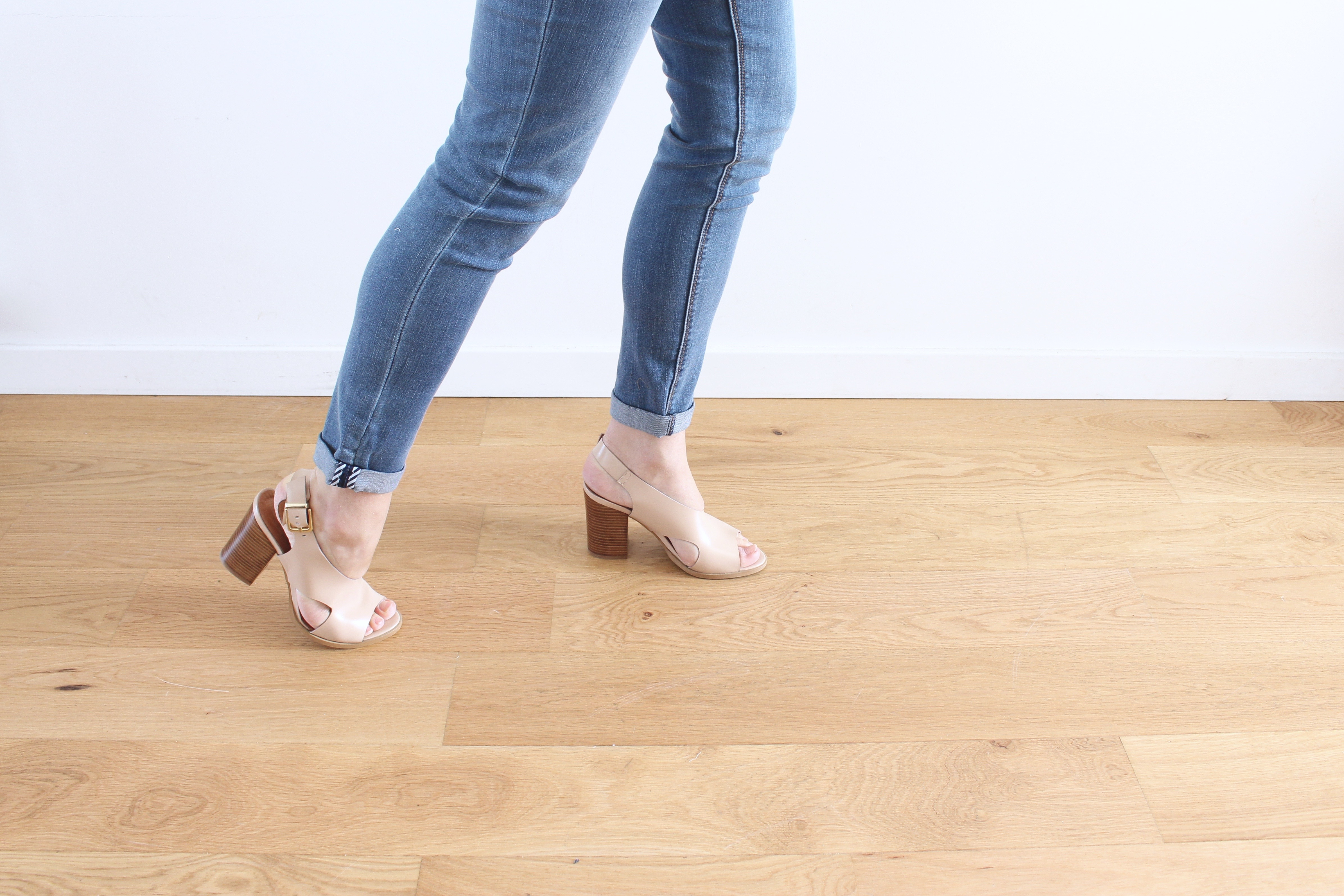 sandales nude sarenza collection