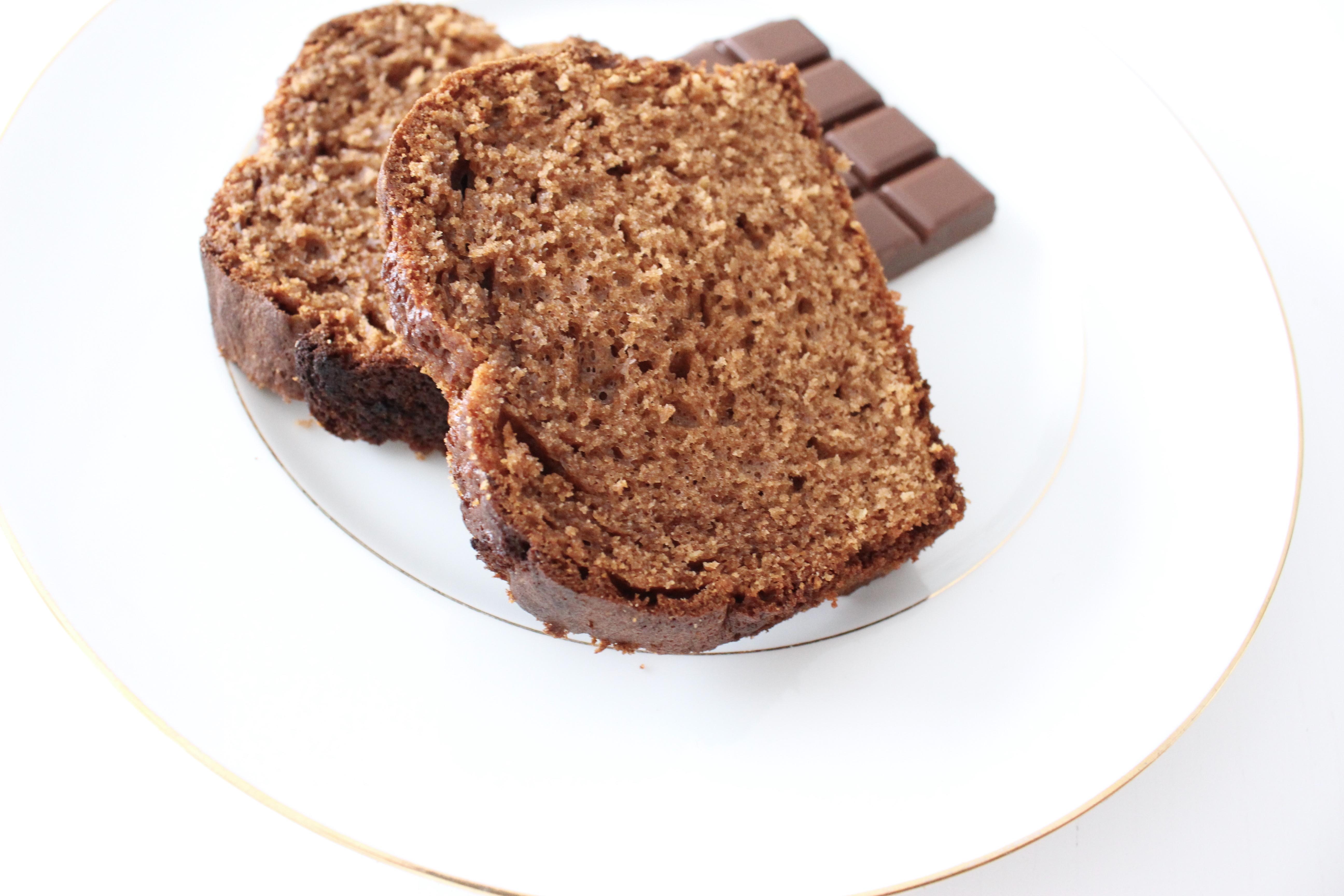 quatre quarts chocolat