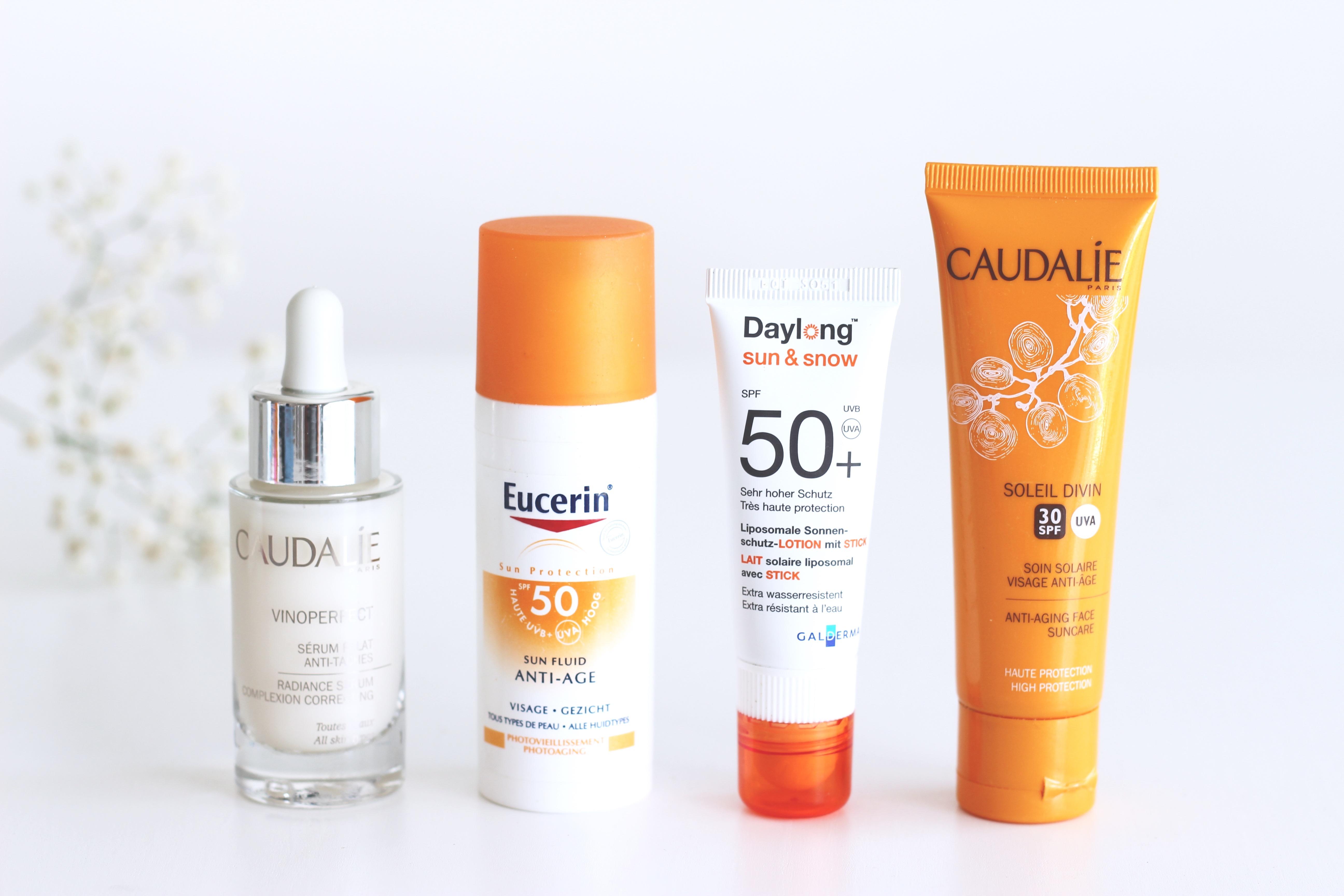soins solaire visage