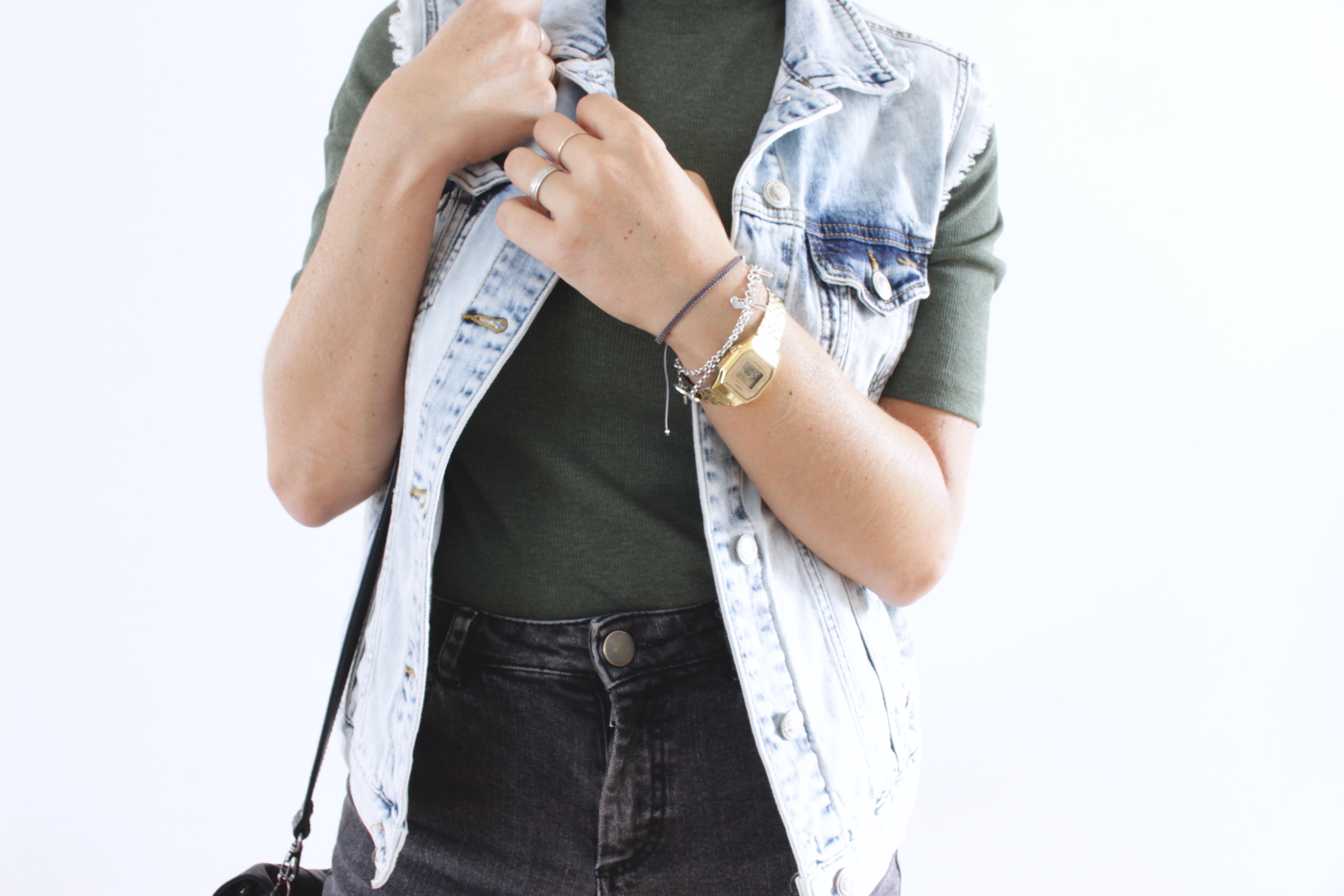 blog mode veste en jean sans manches