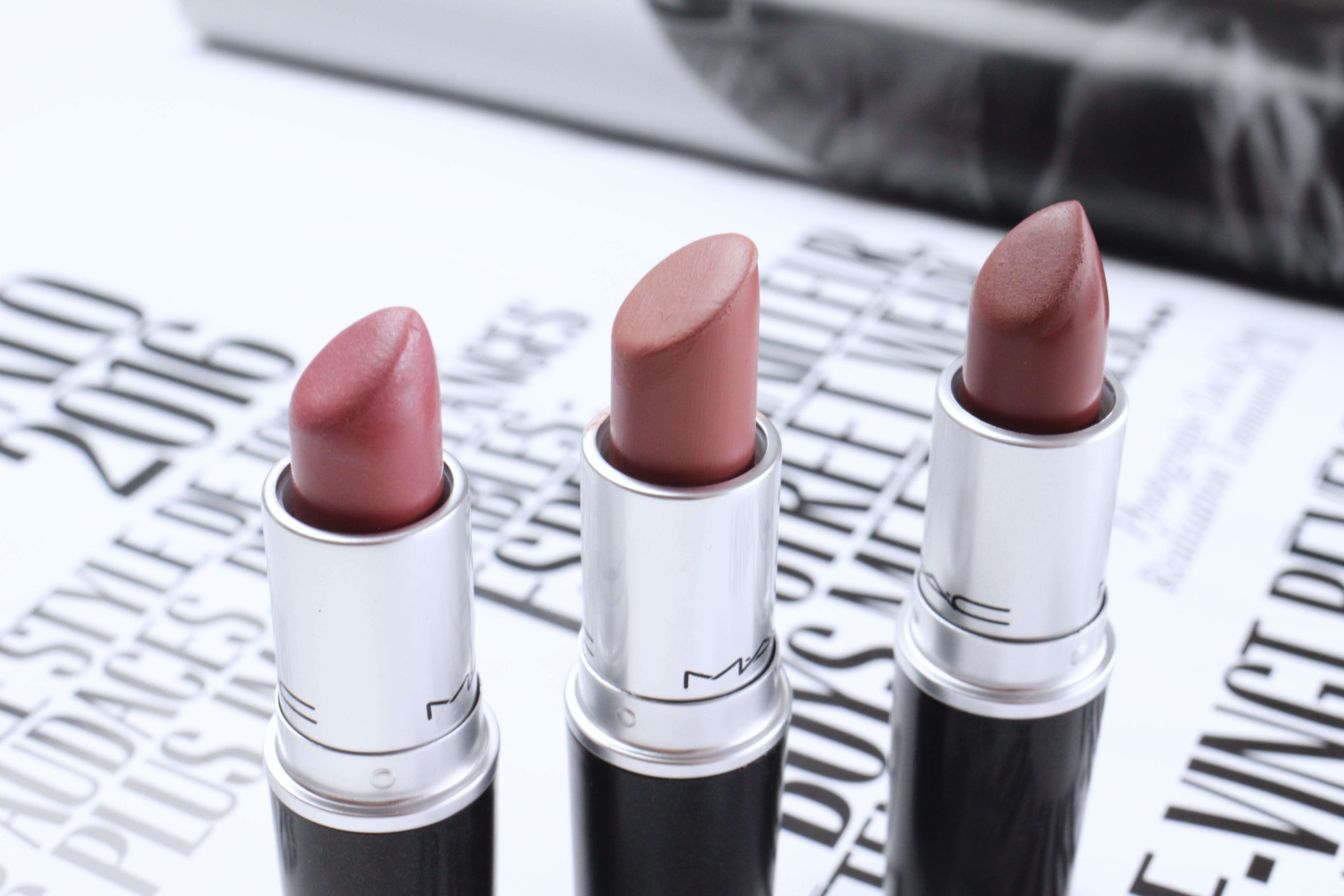 MAC rouge à lèvres nude