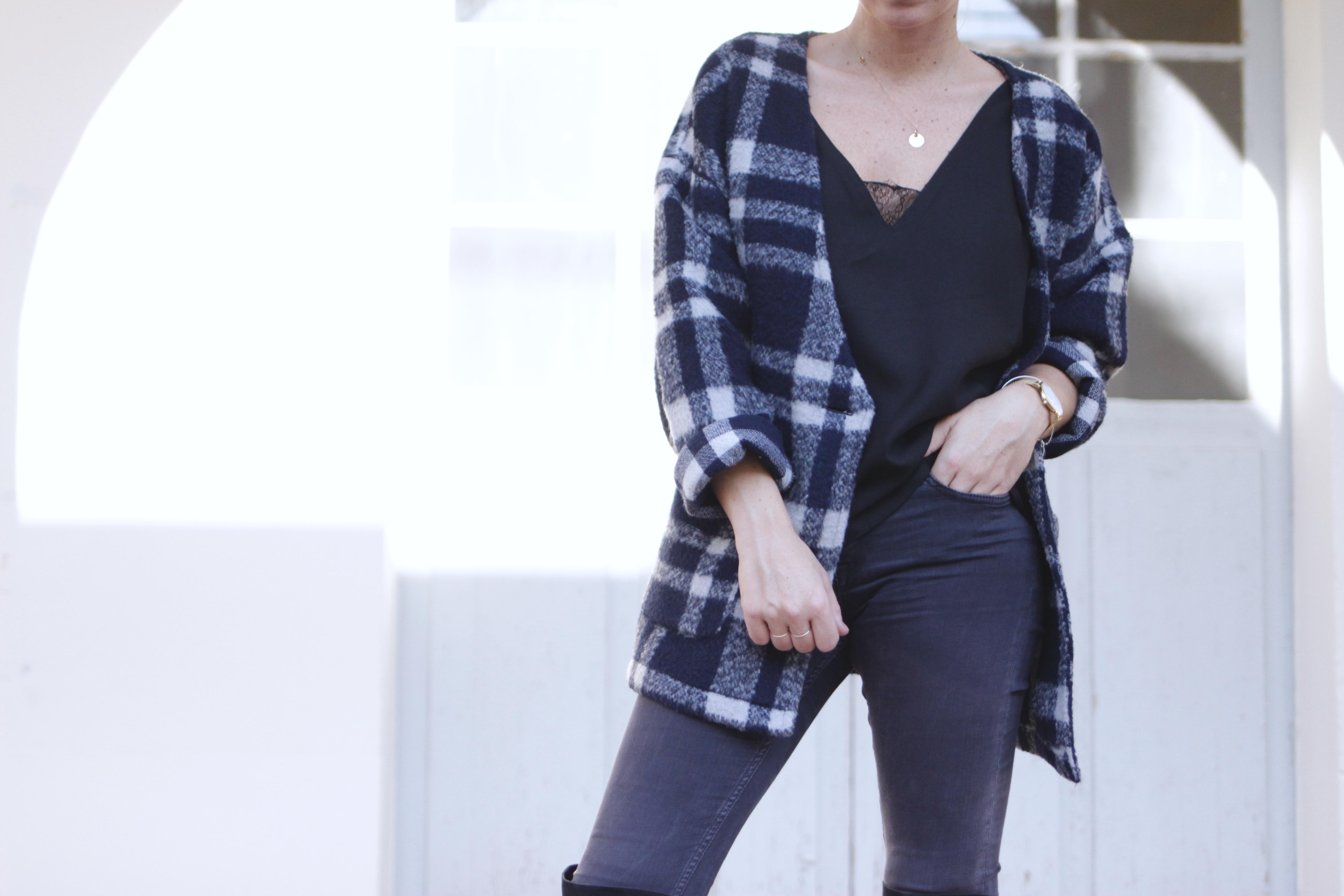 veste en laine blog mode