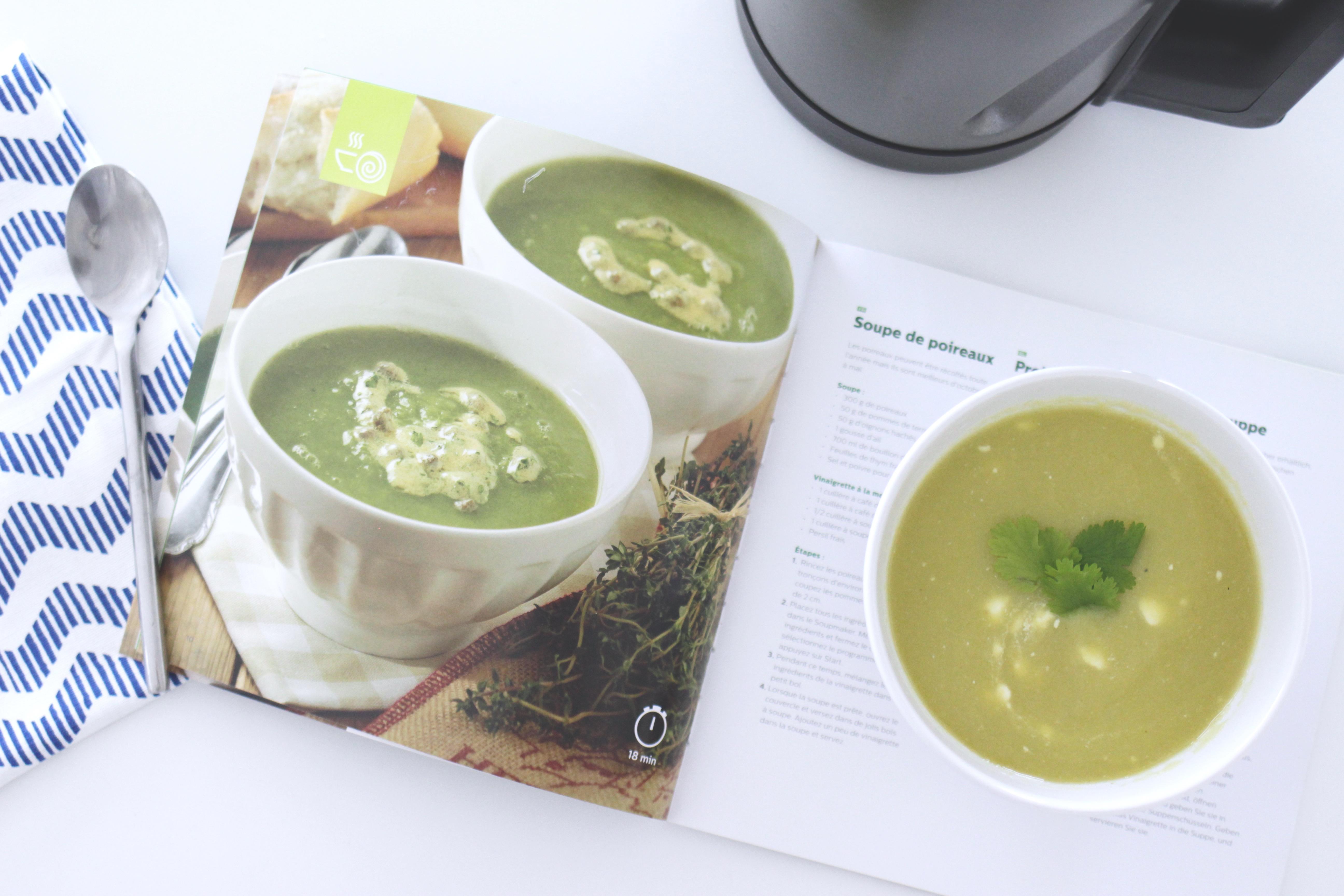 recettes soupemaker