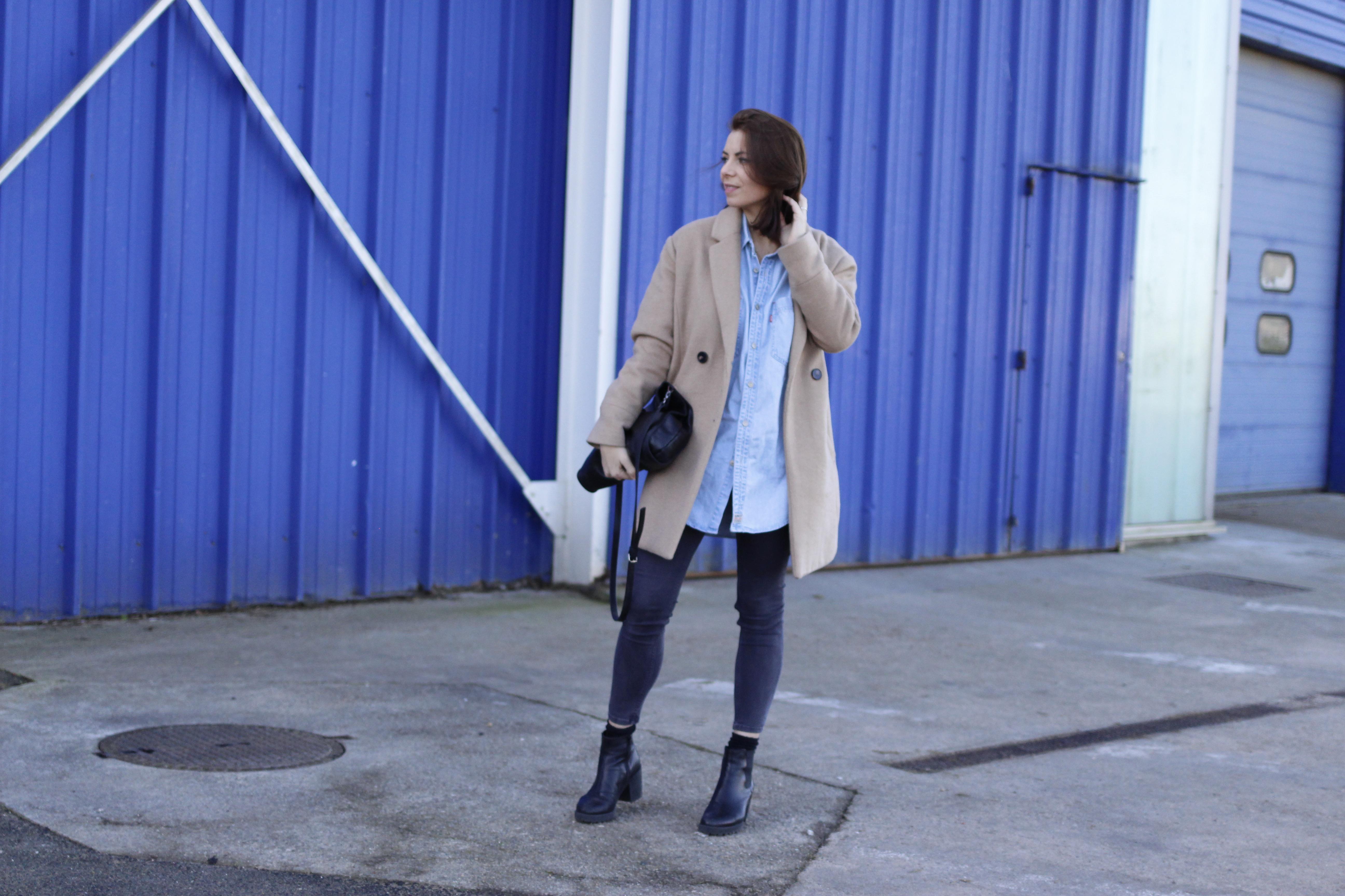 chemise levis vintage blog mode