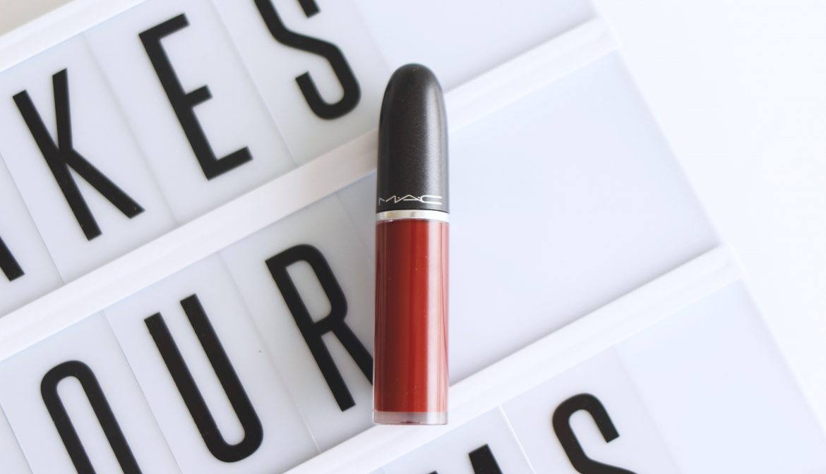 """RETRO MATTE LIQUID LIPCOLOUR"" MAC, J'AI TESTÉ"