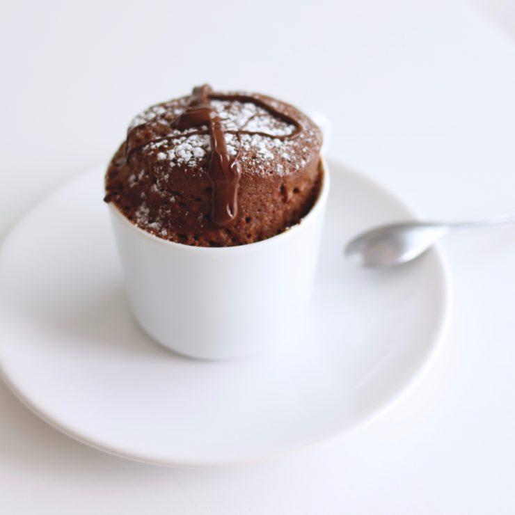 Mug Cake Chocolat Blanc Four