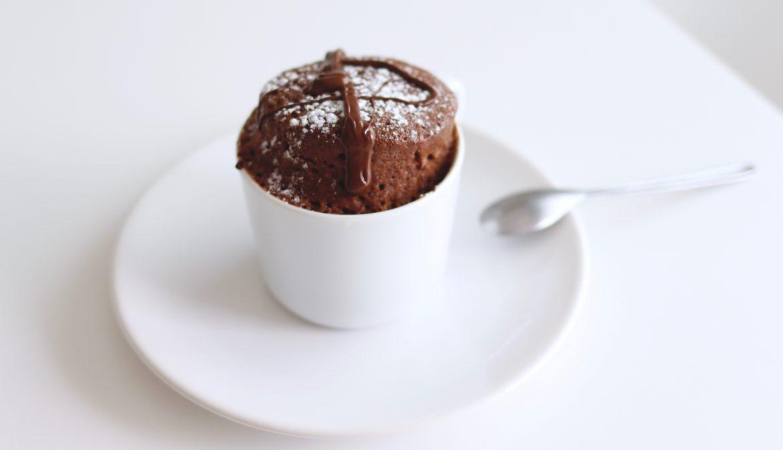 PARFAIT MUG CAKE AU CHOCOLAT
